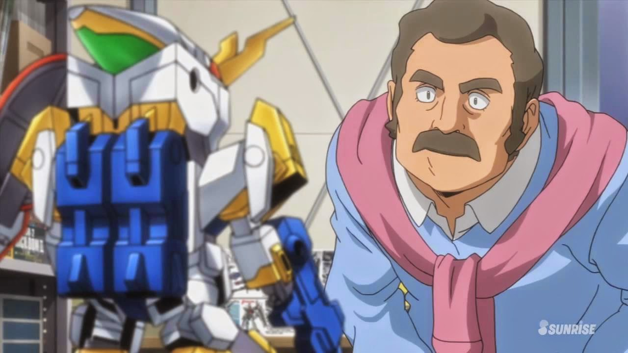 Unbalanced ramblings gundam build fighters try for Domon kasshu build fighters try
