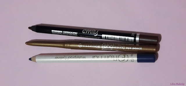 flormar göz kalemi, essence göz kalemi, emily göz kalemi, long lasting eye pencil, brown eye pencil