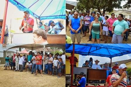 Leilão da Festa de Sebastião de Limoeiro tem bom público e arrecada uma boa quantia de dinheiro