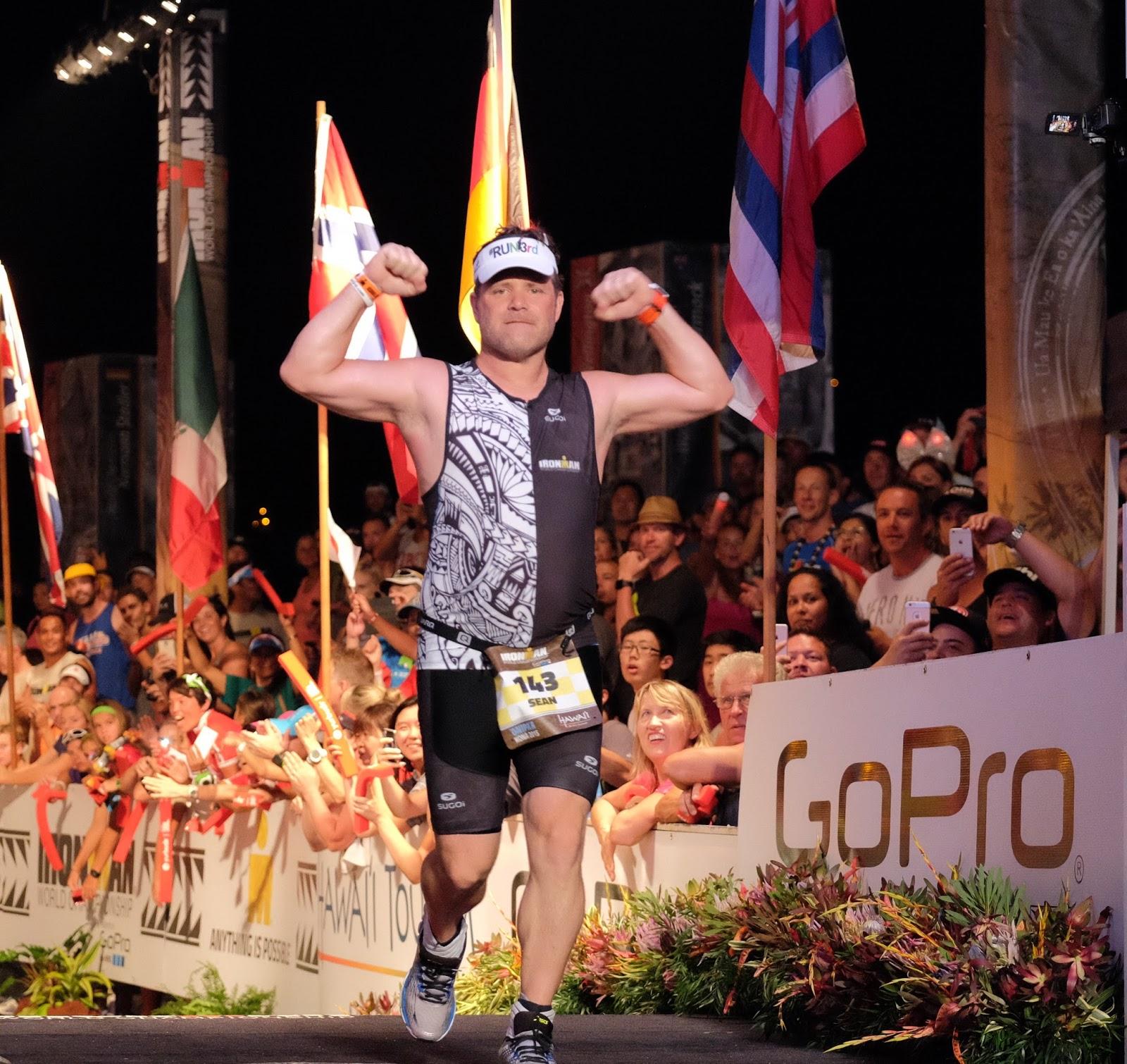 A boy participates in a triathlon to survive