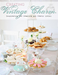 Creating Vintage Charm Magazine - Nadine's Cakes/High tea
