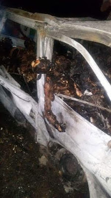 Graphic Photos From The Accident Along Bauchi-jos Road