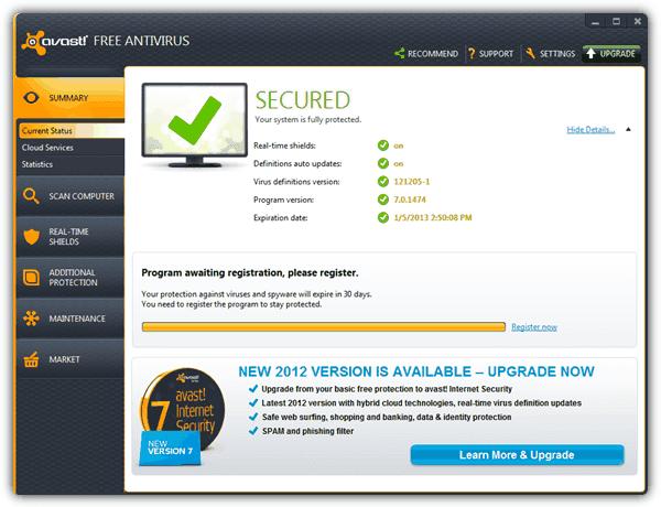 Antivirus professional free