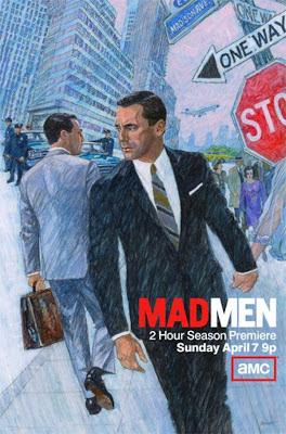 Póster promocional sexta temporada Mad Men