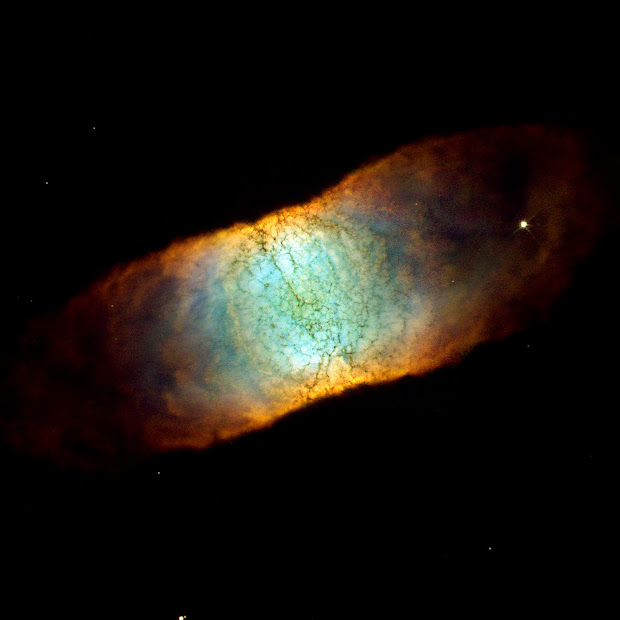 Hubble sees a rainbow of colors in IC 4406, the Retina Nebula