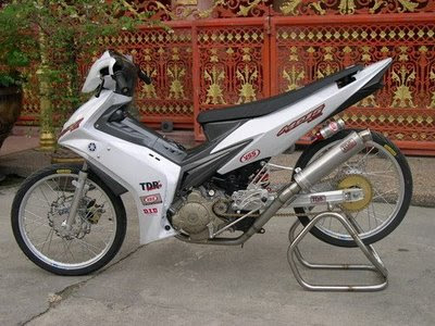 Modifikasi Jupiter Mx Harian