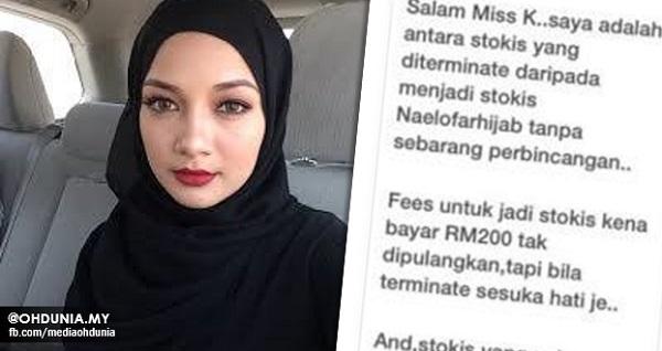 Kecoh!.. Ramai Dakwa Naelofar Hijab MENIPU dan Menganiaya Stokis