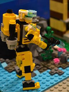 sydney brick show - underwater mech