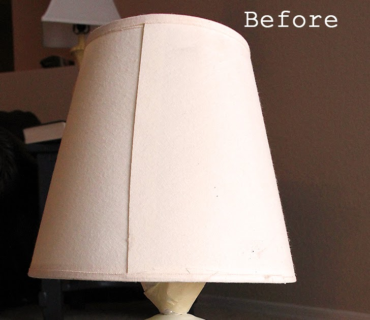 guest tutorial spray painted lace lamp shade. Black Bedroom Furniture Sets. Home Design Ideas