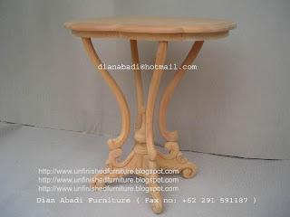 Furniture klasik meja ukir klasik mahoni supplier meja ukir jepara klasik meja mentah unfinished mahoni