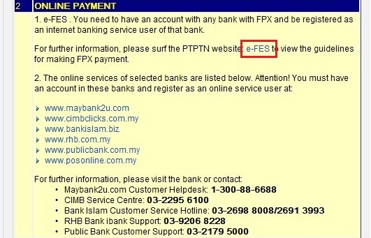 Alvins life after 20 ptptn a step by step guide to online repayment click on it will bring you to the e fes webpage httpepayptn loanptptnloginml platinumwayz