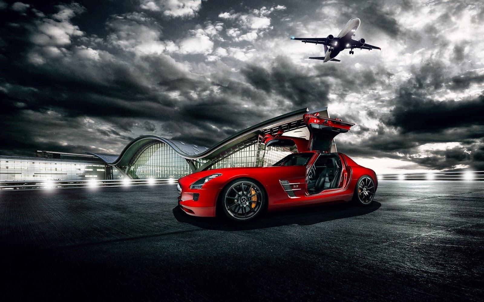 wallpaper Mobil Sport Mewah Mercedez