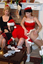 Sierra gets her bare bum spanked for being drunk & naughty at the office Christmas party - My Spanking Roommate