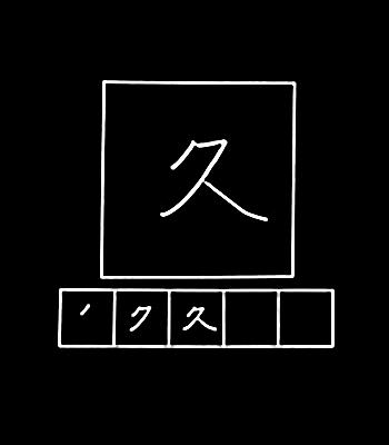 kanji waktu yang lama