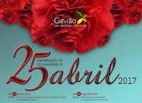 GAVIÃO: COMEMORAÇÕES DO 25 DE ABRIL