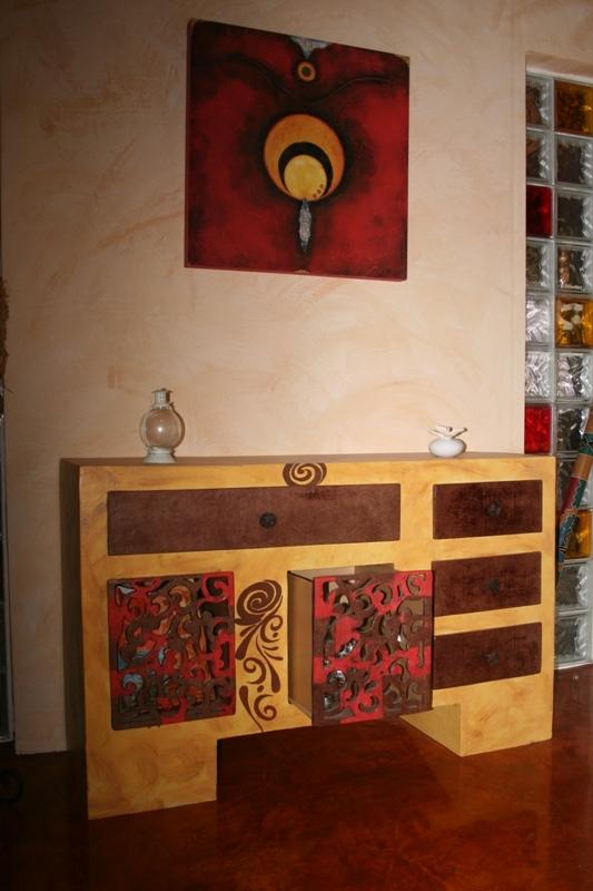 Muebles hechos con materiales reciclados simple muebles - Muebles hechos con materiales reciclados ...