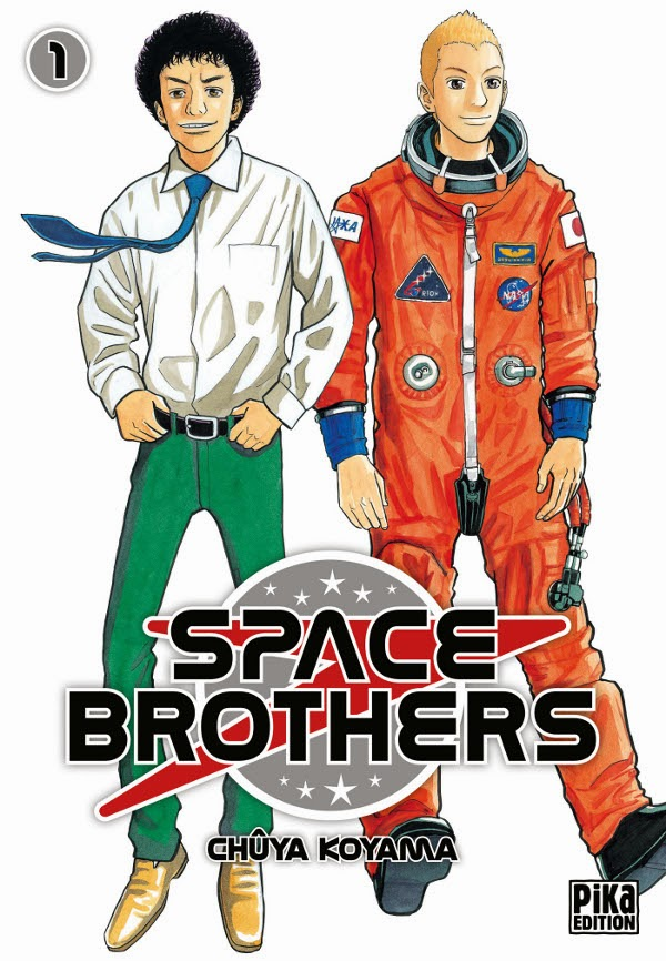 Space Brothers tome 1 aux éditions Pika