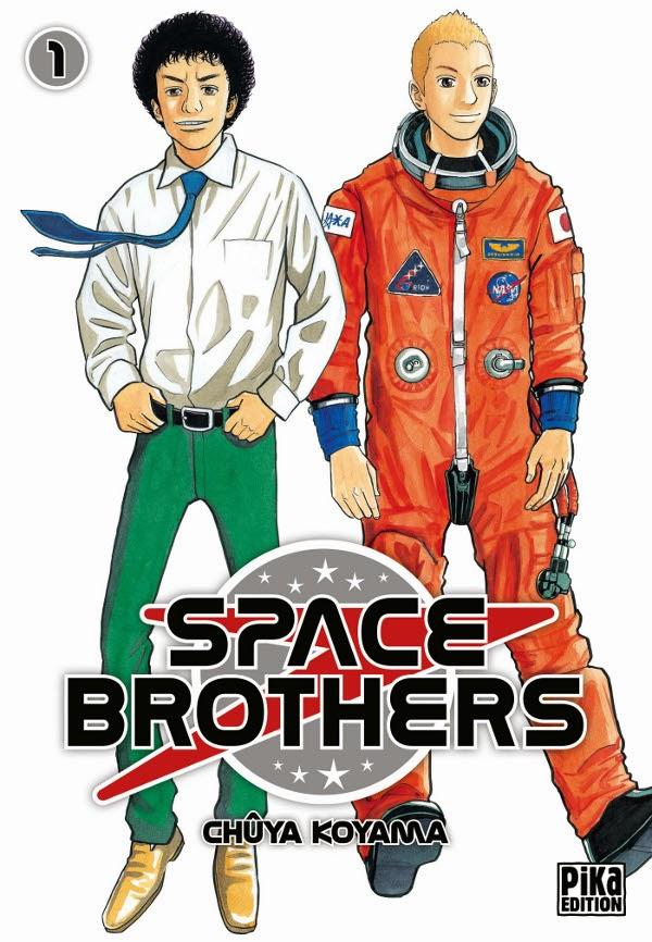 [7BD] Space Brothers Tome 1 édité chez Pika