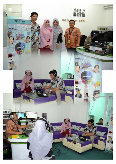 Talk Show Pertama Adam Azkiya di MQ FM Bandung