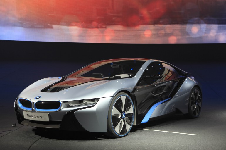 INFORMATIONS: BMW Solar Hybrid Cars I3 and I7 Models Gallery