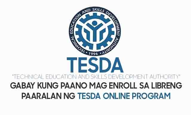 How to Enroll Free Tesda Courses Online Program