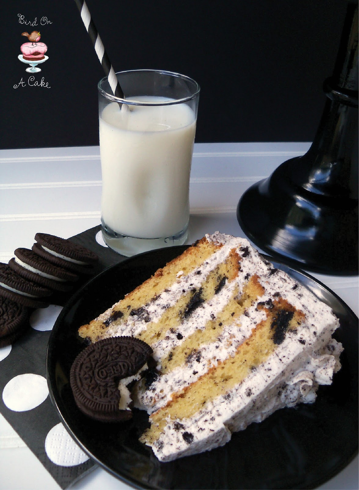 Bird On A Cake Oreo Cookies and Cream Cake