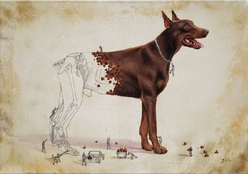 12-Love-for-the-Dogs-Ricardo-Solis-Animal-Paintings-and-their-Back-Story-www-designstack-co
