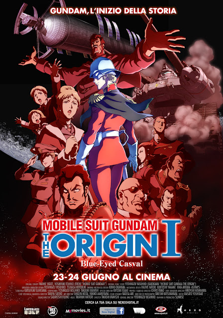 Gundam Origin 1 Blue-Eyed Casval Recensione