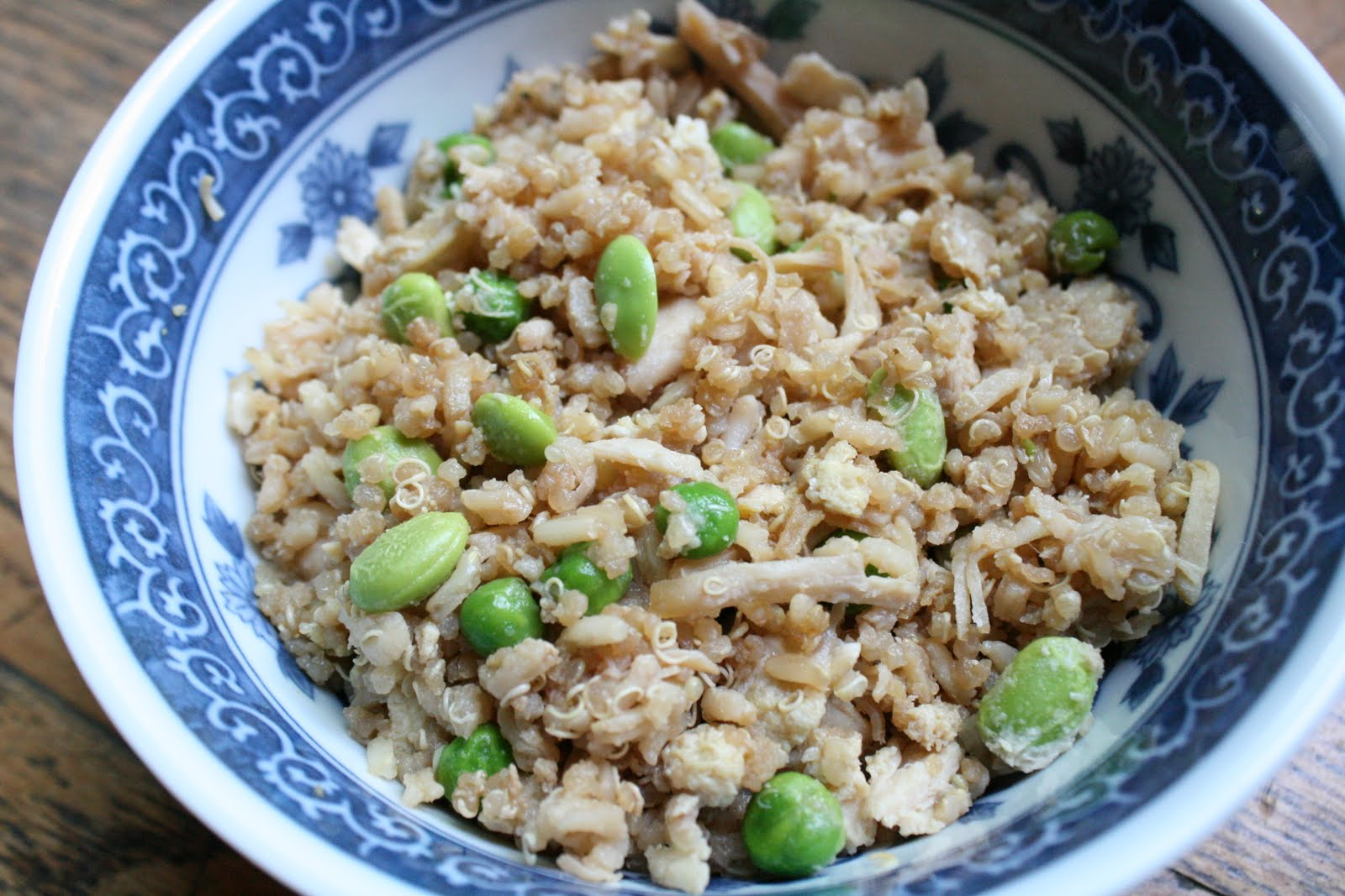how to cook quinoa like fried rice