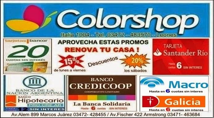 ESPACIO PUBLICITARIO: COLORSHOP