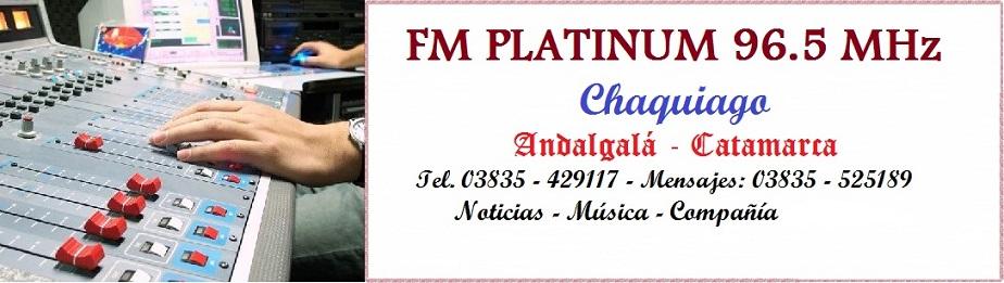 F.M. Platinum 96.5         Andalgalá