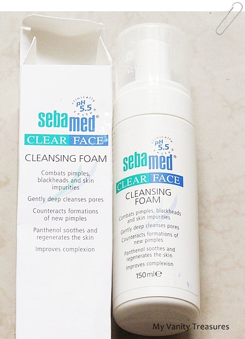 Sebamed Clear Face Cleansing Foam