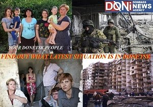 LATEST ON AMEROGERMAN NEONAZI WAR ON PEOPLE OF DONETSK
