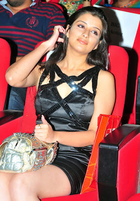 Madhurima Hot Thigh Show in Black Skirt Stills