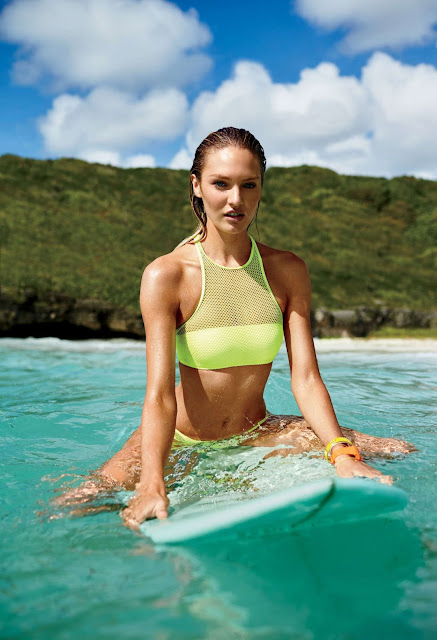 Fashion Model @ Candice Swanepoel - Victoria's Secret Swim Catalog 2015