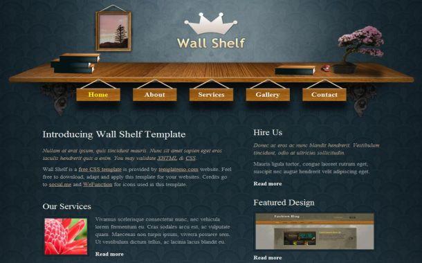 Free blue patterns wood css layout template maxwellsz