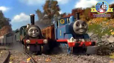 As good as Gordon train Emily the tank engine puffed the number one Thomas the train had to laugh