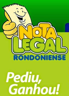 NOTA LEGAL DE RONDONIA