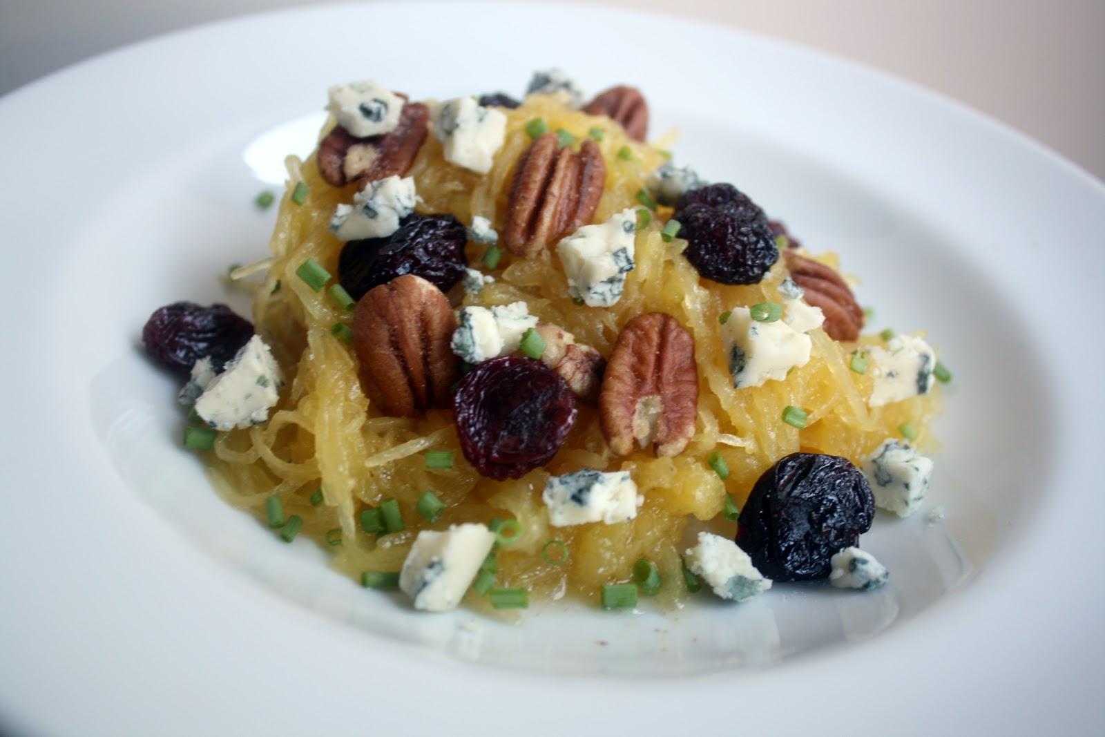 Make-Meals Mama: Spaghetti Squash w/Pecans, Dried Cherries ...