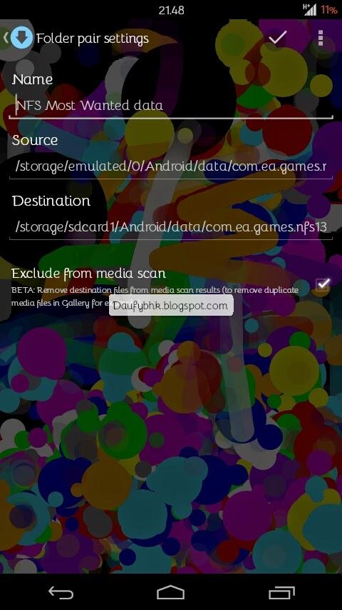 FolderMount Solusi Untuk Gamer Dengan HH Penyimpanan Internal Minim - Dunia Android