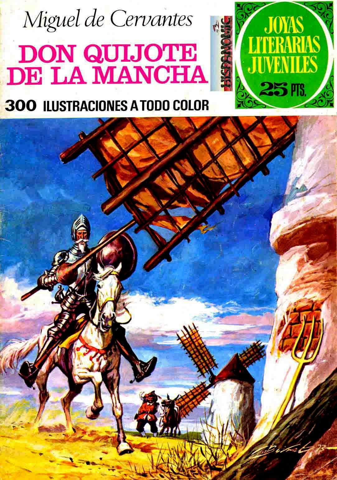 Cómic de Don Quijote