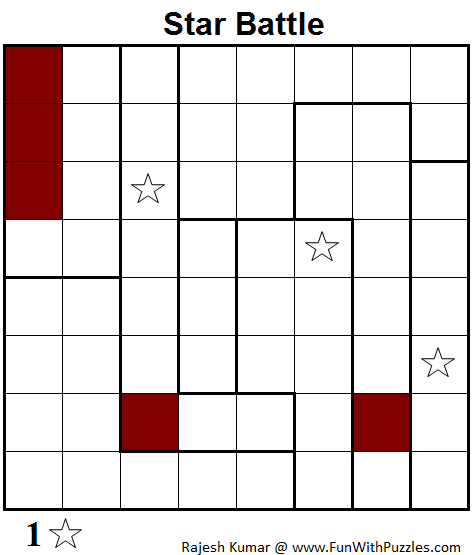 Star Battle (Mini Puzzles Series #21)