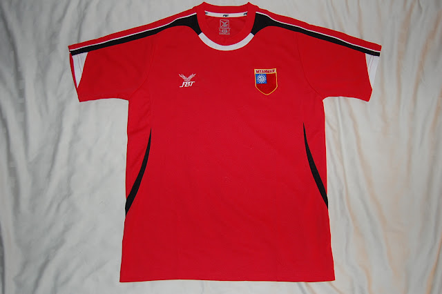 Myanmar/Burma football shirt