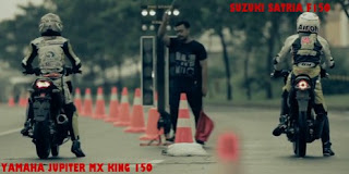 Keren!!! Duel Sengit, Yamaha Jupiter MX King 150 vs Suzuki Satria F150 (episod 2)