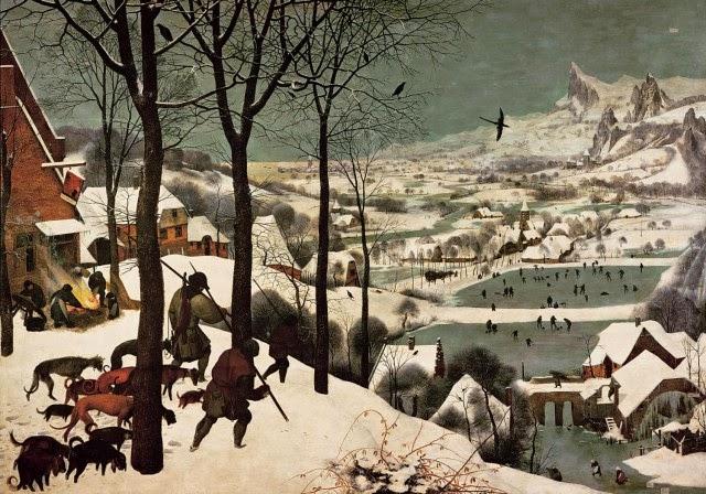 Κυνηγοί στο χιόνι, 1565