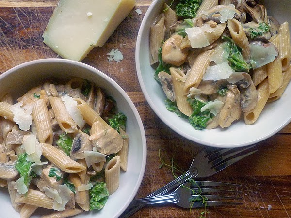 Creamy Chicken and Mushroom Pasta Recipe