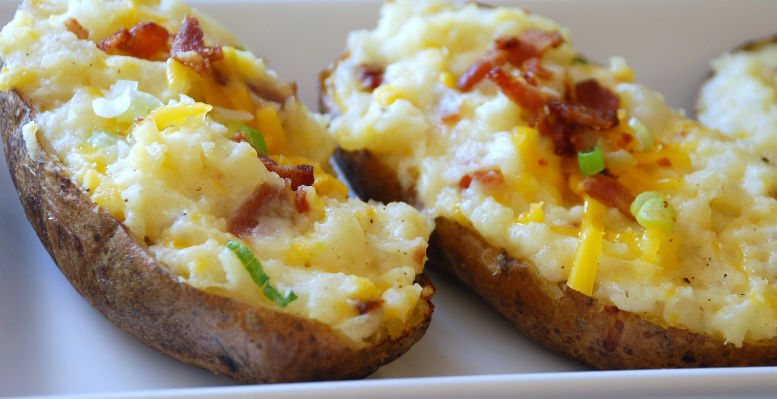 Everyday Insanity...: Twice Baked Potatoes