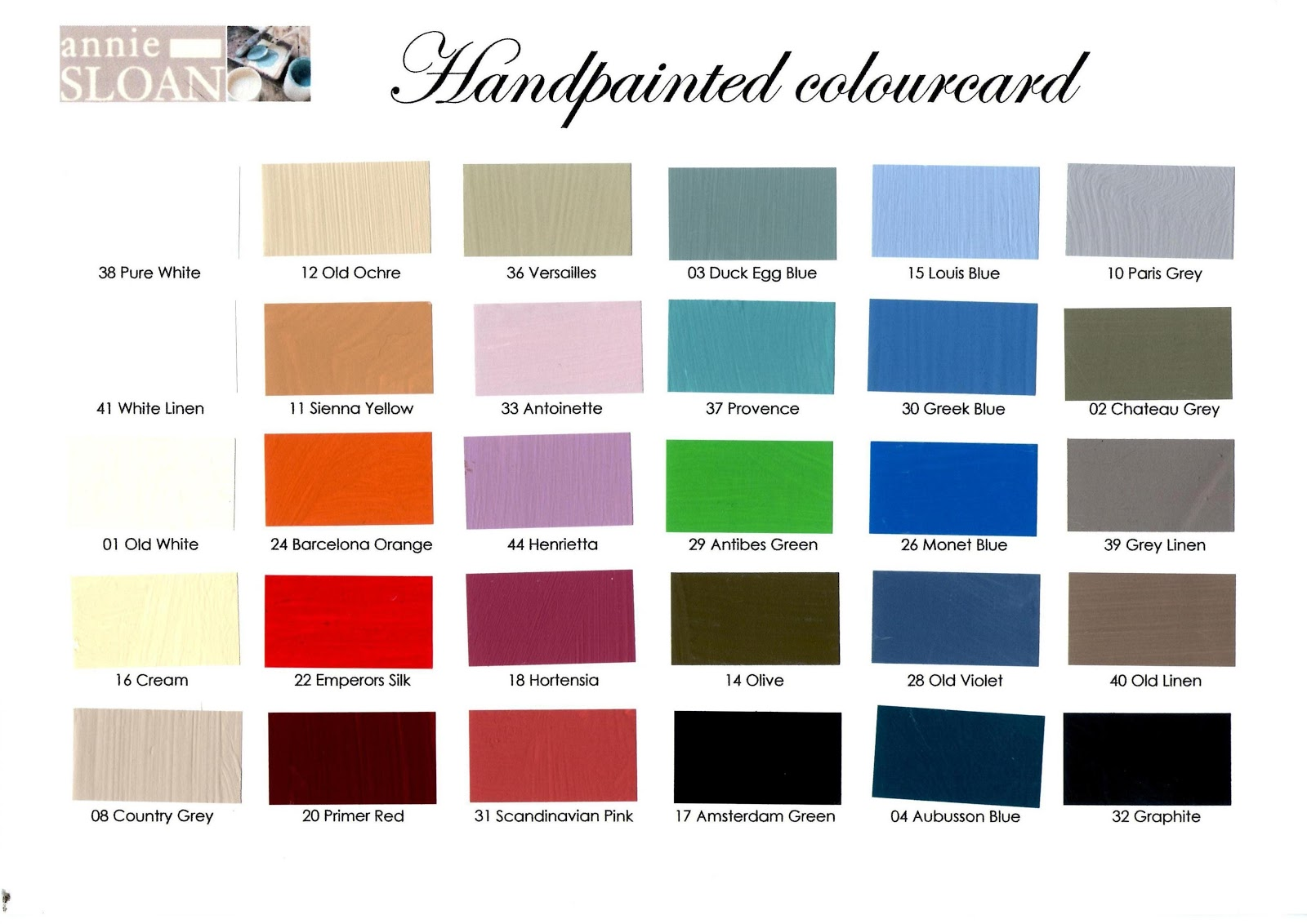 "spesso VerdeSalvia"": Annie Sloan Chalk GiveaPaint SC56"