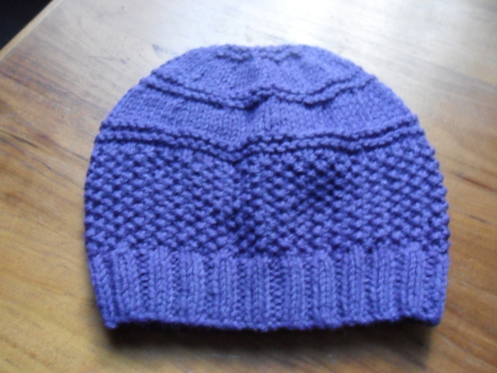 Knitter Sue: Seed Stitch Cardigan and Hat