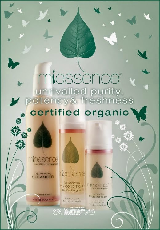 Miessence Certified Organic Products